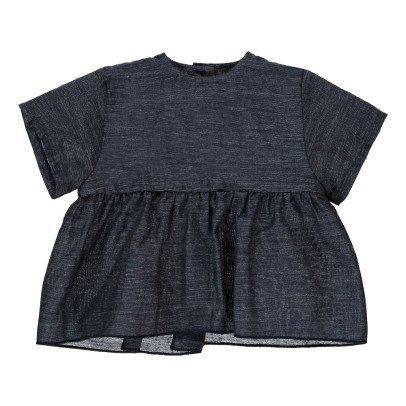 Pequeno Tocon Blusa Volantes-listing
