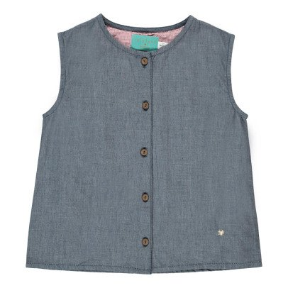 Lulaland Nico Organic Cotton Top with Buttons-product