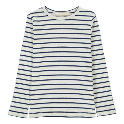 Poppy Rose Tiffany Striped T-Shirt-listing