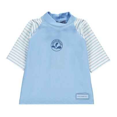 Archimède Cocon Boy Striped UV Protective T-Shirt-listing