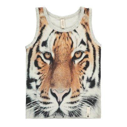 POPUPSHOP Débardeur Tigre Coton Bio-listing