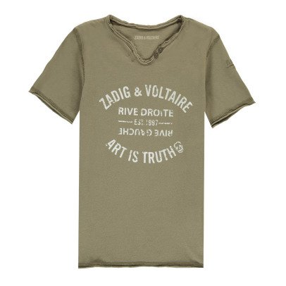 Zadig & Voltaire Camiseta Boxer-listing