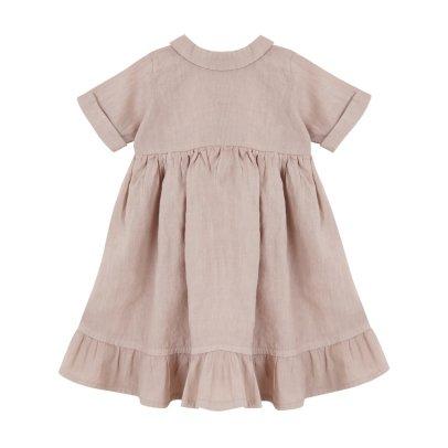 Yellowpelota Folklore Linen Maxi Dress-listing