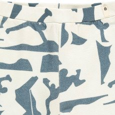 POPUPSHOP Organic Cotton Graphic Print Shorts-listing
