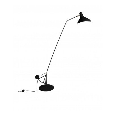 Mantis BS1 Floor Lamp with Round Base-listing