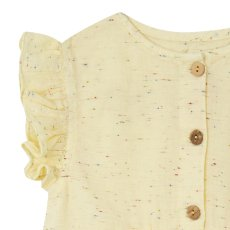 Yellowpelota Mottled Button-Up Top-listing