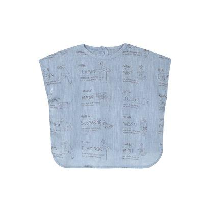 Yellowpelota Blusa Lino Kimono-listing