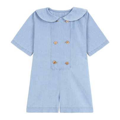 Yellowpelota Mono Corto Marinero Chambray-listing