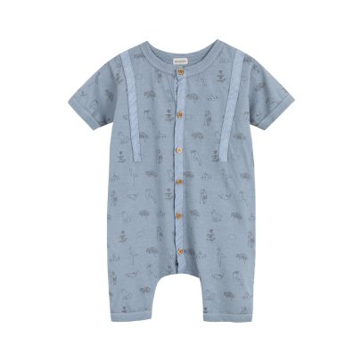 Yellowpelota Kurzer Overall Sailor -listing