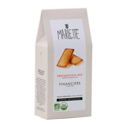 Marlette Préparation bio Financier-listing