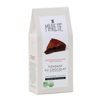 Marlette Préparation bio Fondant au chocolat-listing
