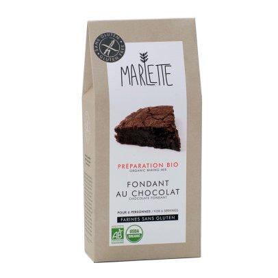 Marlette Preparación bio Fondant de chocolate sin gluten-listing