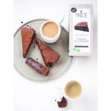 Marlette Préparation bio Fondant au chocolat sans gluten-listing
