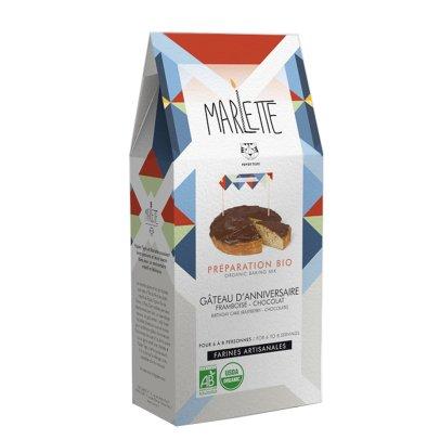 Marlette Préparation bio Gâteau d'anniversaire-listing