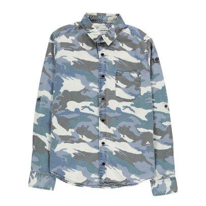 Zadig & Voltaire Camicia Denim Camouflage-listing