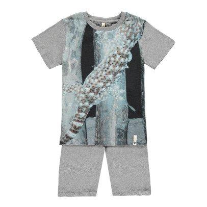 POPUPSHOP Pyjama Eidechse aus Bio-Baumwolle -listing