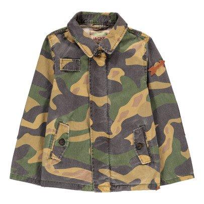 Scotch & Soda Veste Longue Camouflage-listing