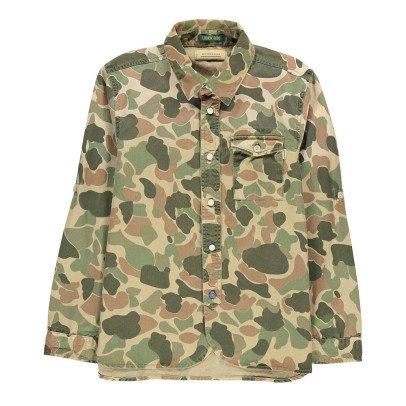 Scotch & Soda Sur-Chemise 78 Camouflage-listing