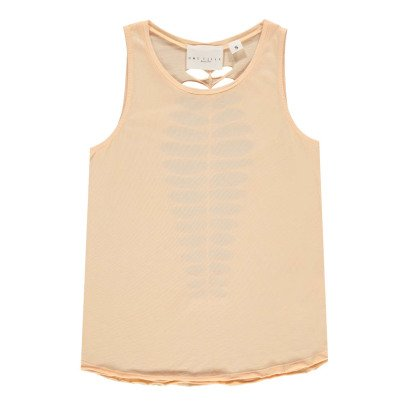 UNE FILLE today I am Embellished Back Vest Top-listing