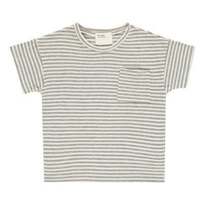 Boy + Girl T-shirt Righe Cotone Bio-listing