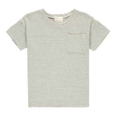 Boy + Girl Graham Organic Cotton Striped T-Shirt-listing