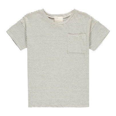 Boy + Girl T-Shirt Rayé Coton Bio Graham-listing