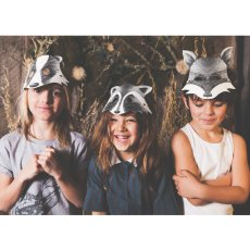 Ninn Apouladaki Little Rascal Masks - Set of 3-listing