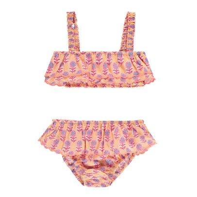 Louise Misha Bekasi Floral Ruffled 2 Piece Swimsuit-listing