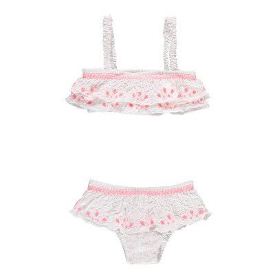 Louise Misha Kadiz Embroidered Ruffle 2 Piece Swimsuit-product