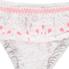 Louise Misha Taza Embroidered Ruffle Swimming Bottoms-listing