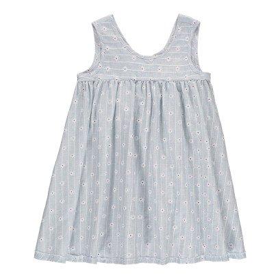 Boy + Girl Frankie Floral Striped Dress-listing