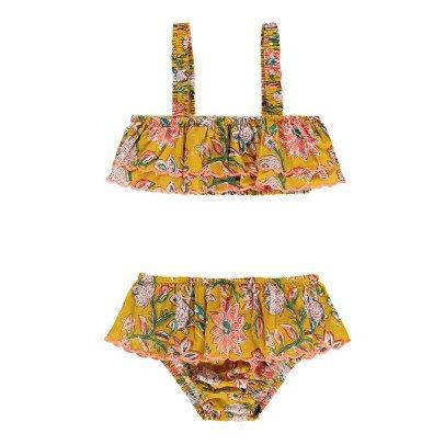 Louise Misha Bikini 2 piezas Volantes Flores Bekasi-listing