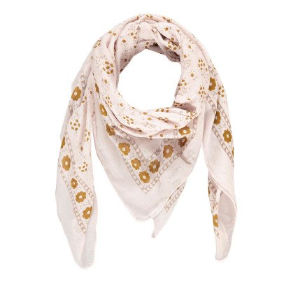 Soeur Flower Cotton Scarf-listing