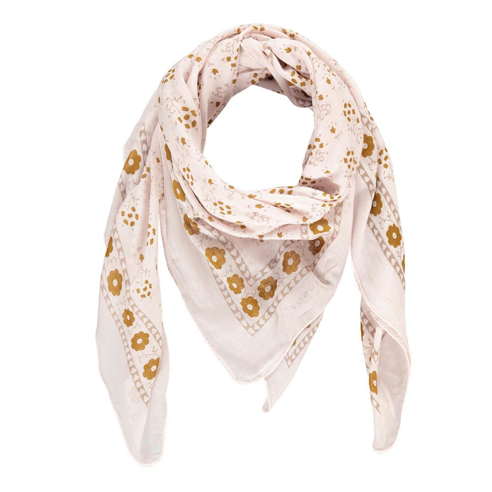 Flower Cotton Scarf-product