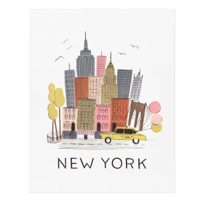 Rifle Paper Co Rifle Paper New York City Poster - 28x35cm-listing
