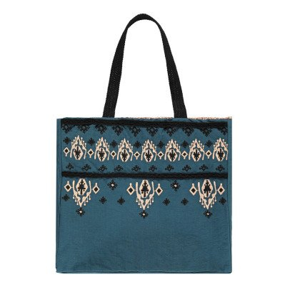 Louise Misha Olvera Sequin Linen and Cotton Bag - Women's Collection-listing