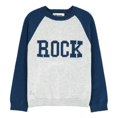 """Zadig & Voltaire Pull Coton Cachemire """"Rock"""" Leon-listing"""