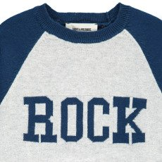 "Zadig & Voltaire Leon ""Rock"" Cashmere and Cotton Jumper-listing"