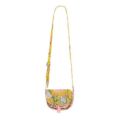 Louise Misha Misha Sequin Flower Pouch-listing