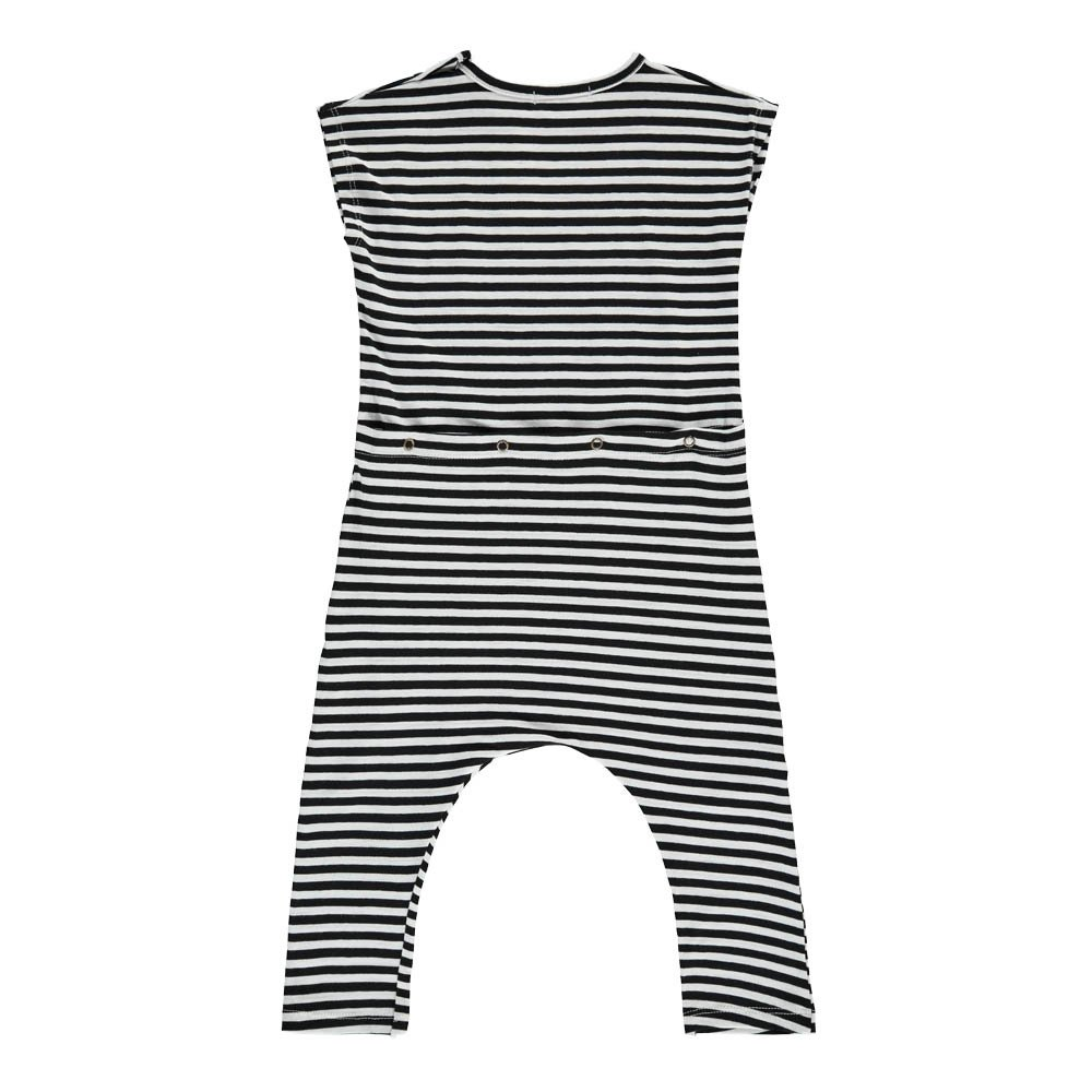 1+ IN THE FAMILY Ferran Pocket Striped Jumpsuit-product