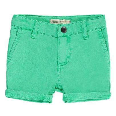Billybandit Drill Reverse Bermuda Shorts-listing
