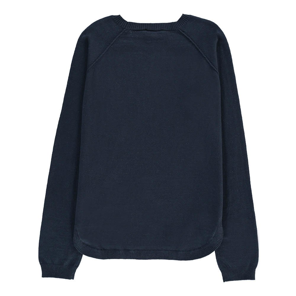 "Drum ""Rock"" Cotton and Cashmere Jumper-product"