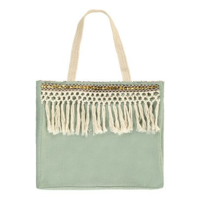 Louise Misha Breloque Linen and Cotton Bag - Women's Collection-product