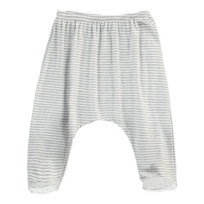 1+ IN THE FAMILY Nur Striped Fine Footed Trousers-listing