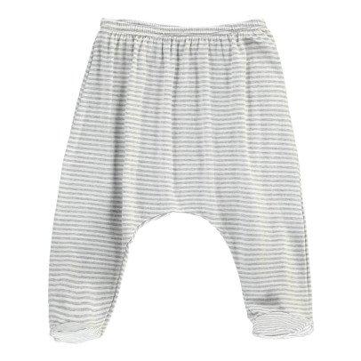1+ IN THE FAMILY Pantaloni Piedi Righe-listing