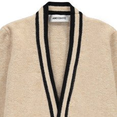 ANECDOTE Sarah Mohair and Merino Wool Cardigan-listing