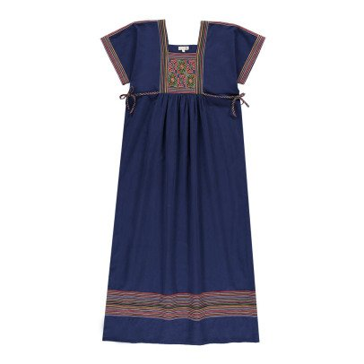 Soeur Blandine Embroidered Plastron Dress-product