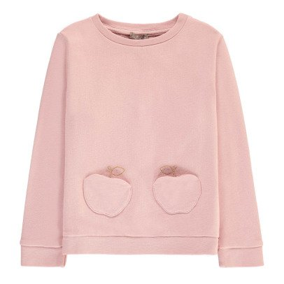 Emile et Ida Apple Sweatshirt with Pocket-listing