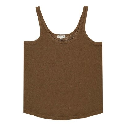 Soeur Varenne Cotton and Linen Vest Top-product