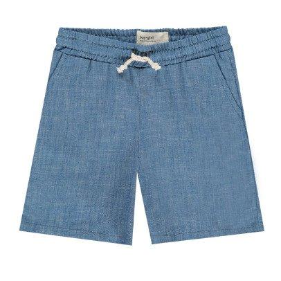 Boy + Girl Chambray Shorts -listing
